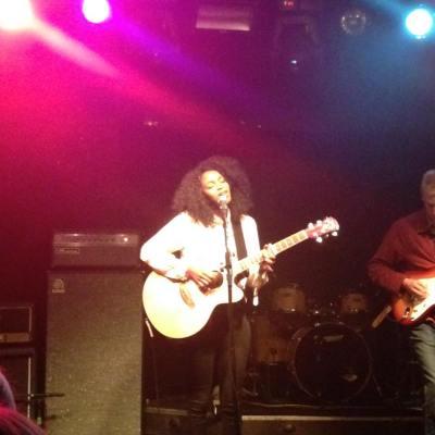 Joy Mumford during her acoustic set