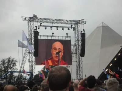 The Dalai Lama!
